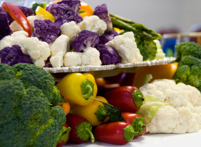We offer a plentiful variety of fresh and healthy food options!