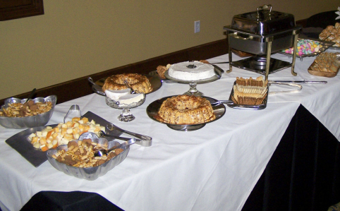 We offer a tasty variety of sides, entrees, and sweets!